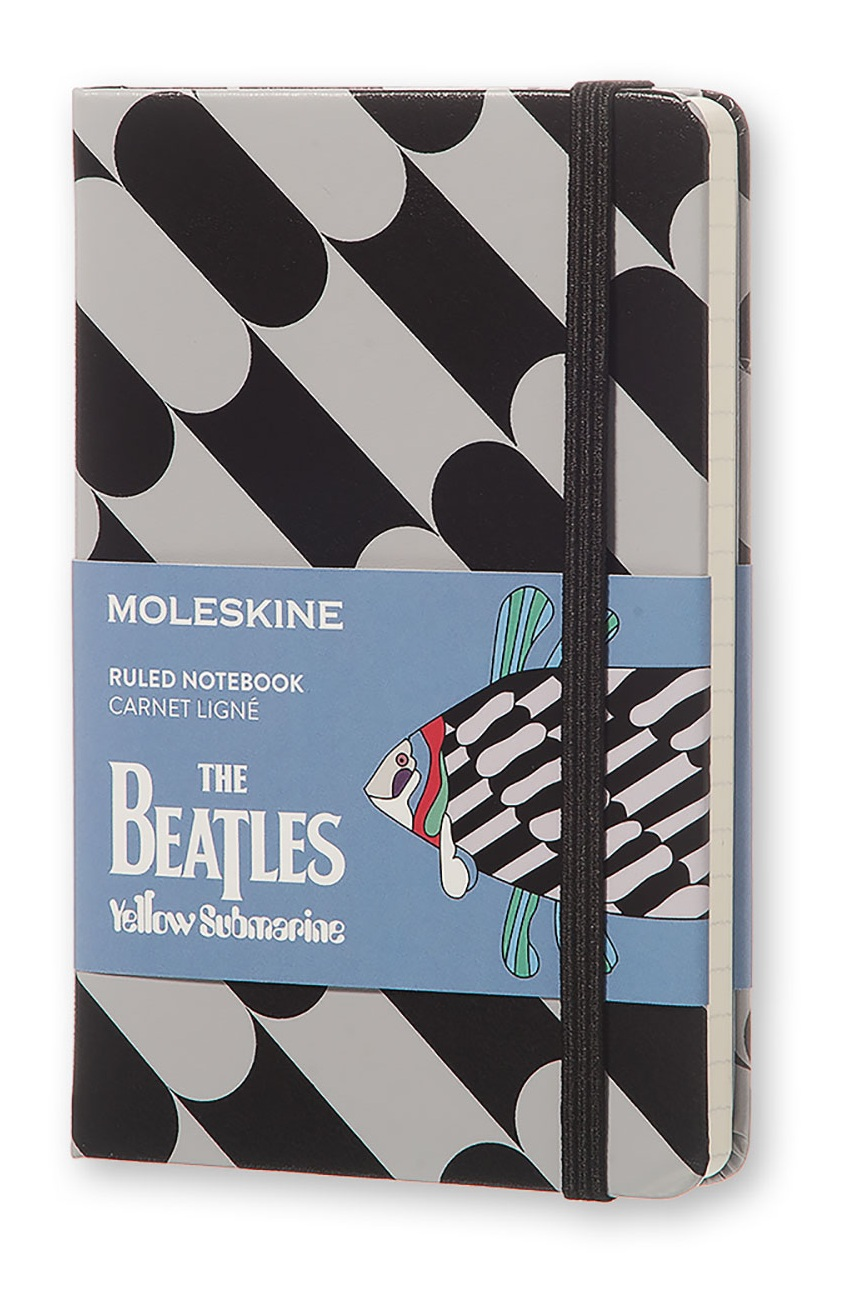 The Beatles zápisník Moleskine linkovaný S Fish